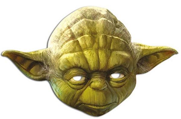 Masque Star Wars Yoda