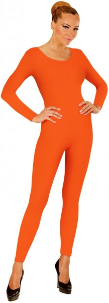 Langärmeliger Bodysuit für Damen orange
