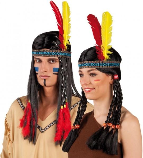 Indianer Stirnband Klassik