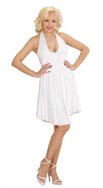 Wunderschönes Marilyn Kleid Weiß