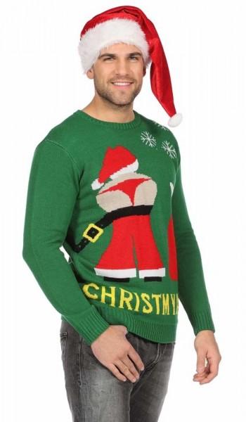 Christ my ass Weihnachtspullover
