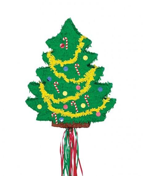 Pinata à tirer pour sapin de Noël 48 x 15 x 33 cm