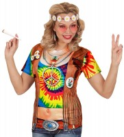 Hippie Girl Hailey 3D-Shirt