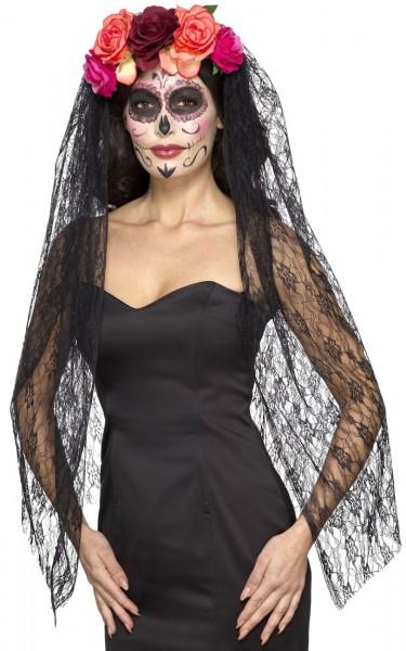 Voile d'Halloween pour les femmes du jour des morts