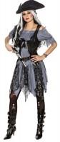 Zombie Piratin Kostüm Ella