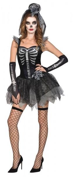 Disfraz de esqueleto Lady Elisa para mujer