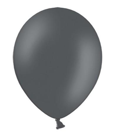 20 Partystar Luftballons anthrazit 23cm