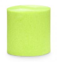 10m Krepppapier apfelgrün 4-teilig
