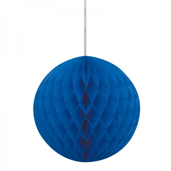 Ocean blue honeycomb ball 20cm