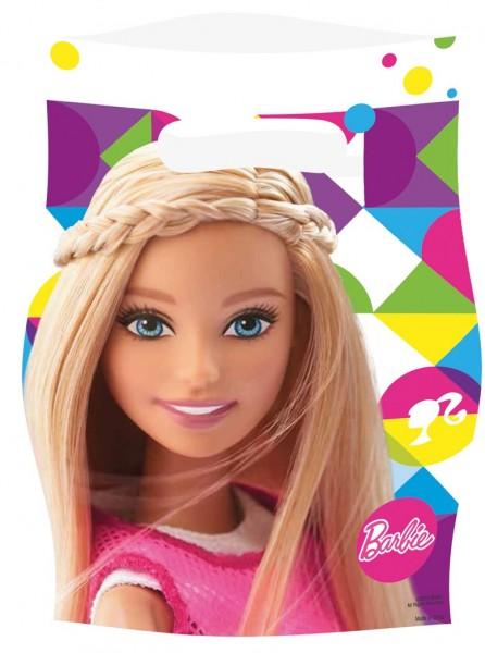 8 Barbie Fashionista Geschenktüten 16 x 23cm