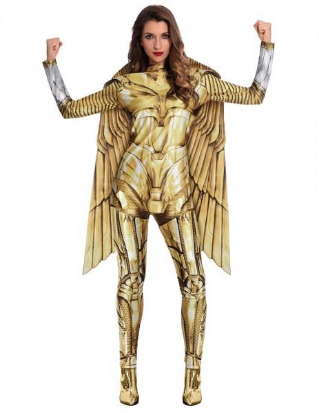 Golden Wonder Woman Damenkostüm