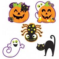 10 Hexenritt Halloween Wandausschnitte