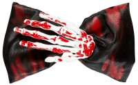 Blutverschmierte Fliege Skelett-Hand