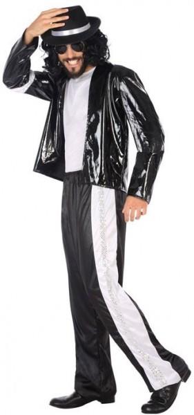 Costume pour homme Pop King des années 80