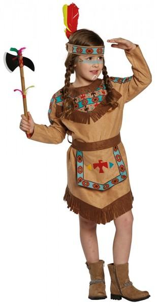 Fransen Indianer Kostüm