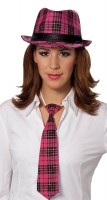Pinke Karierte Krawatte