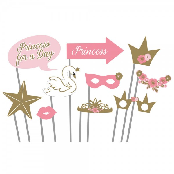 Fotorequisiten Princess for a Day 10-teilig