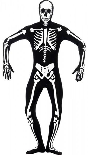 Halloween Kostüm Skelett Leuchtet Im Dunkeln