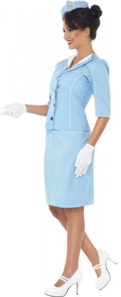 Sexy Stewardess Skyla Damenkostüm
