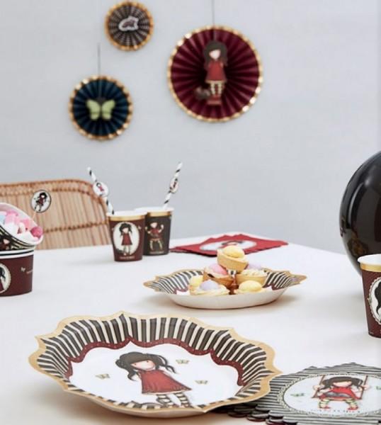 8 Santoro Gorjuss Ruby Dessert Becher