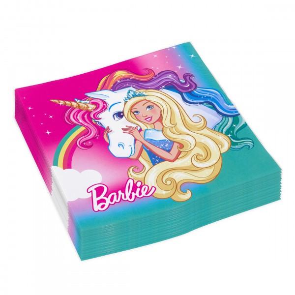 20 Barbie-Dreamtopia Servietten 33 x 33cm