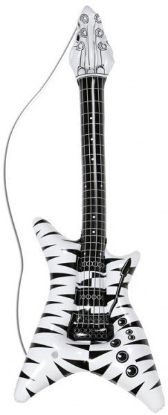 Guitare gonflable rock star air