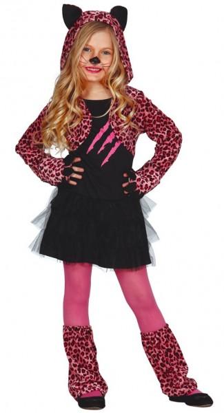Pink Kitty Kinderkostüm