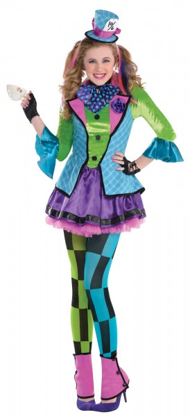 Mad hatter costume Susi for girls