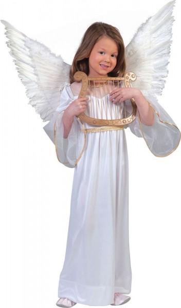 White angel costume harmony for children