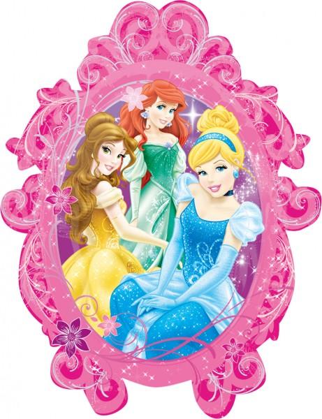 Foil balloon Disney Princesses mirror