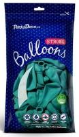 10 Partystar Luftballons türkis 27cm