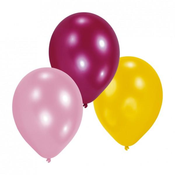 10 balloon set Birthday Girl 23cm