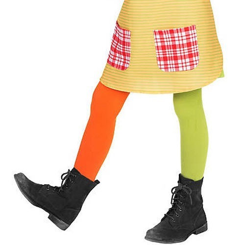 Pippi Longstocking tights for girls