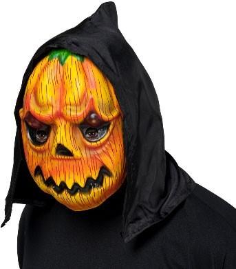 Pumpkin Halloween Maske mit Kapuze