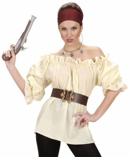 Chemisier Pirate Bride Tammy Beige