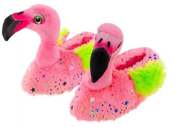 Glam Star Flamingo Hausschuhe
