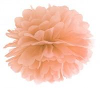 Pompon Romy pfirsich 35cm
