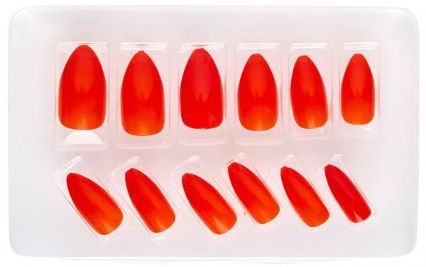 Ramona Rot Fingernägel 12er Set