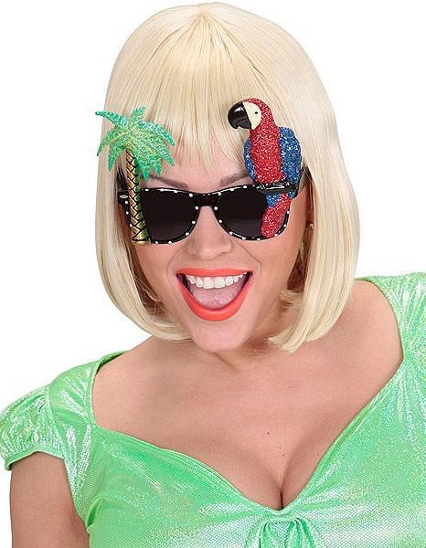 Urlaub Party Brille Papagei
