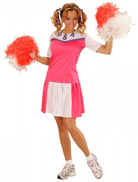 Cheerleader Bunny Damenkostüm