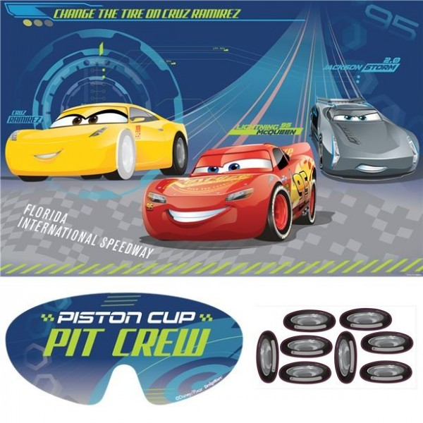 Cars Piston Cup Partyspiel