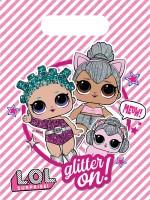 6 LOL Glamour Girls Geschenktüten