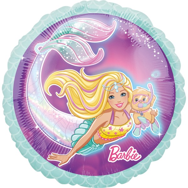 Barbie Folienballon Ozeanien 45cm