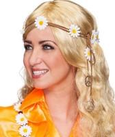 Hippie Haarband Mit Blumenverzierung