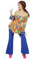 Bunte Hellena Hippie Bluse