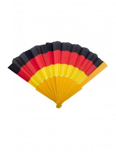 Fan Fächer in Deutschland-Farben