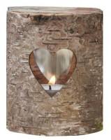 Landliebe Hochzeit Windlicht 9 x 7cm