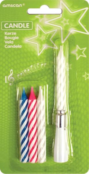 Velas mágica-tortenkerzen-cumpleaños velas-artículos de broma