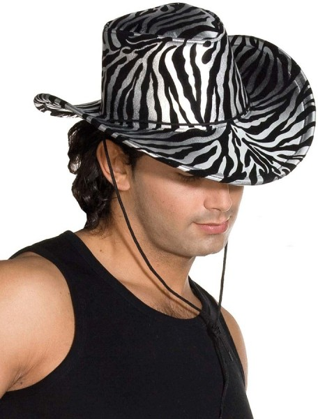 Connor Cowboyhut Im Zebra Look