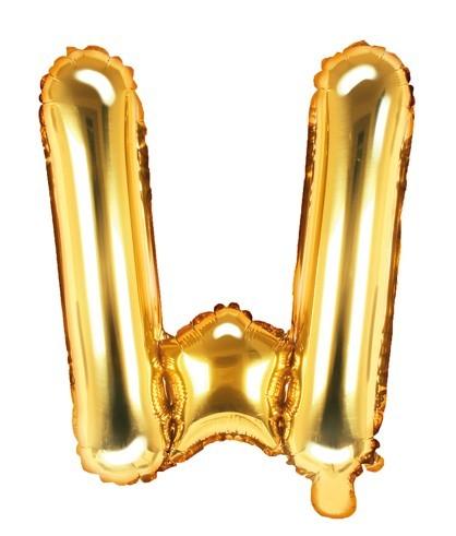 Palloncino foil oro 35 cm